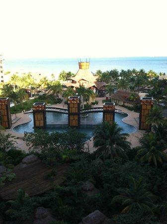 Villa del Palmar Cancun Beach Resort & Spa: beautiful view from the balcony
