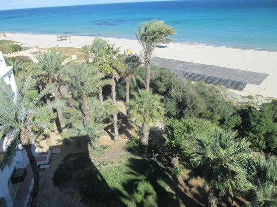 Marhaba Beach Hotel: beach from room