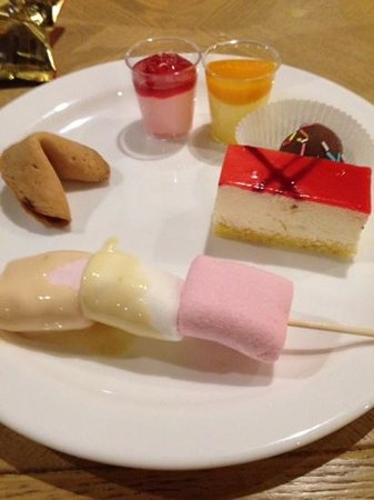 Lovely Mini Desserts Picture Of COSMO Edinburgh Edinburgh TripAdvisor
