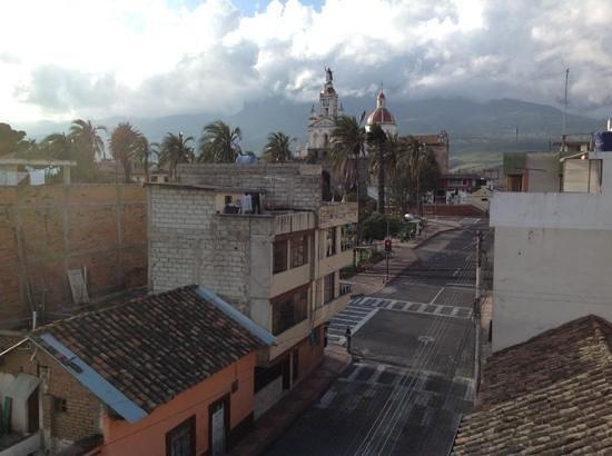 La Cuadra Hotel: view from the rooftop at La Cuadra