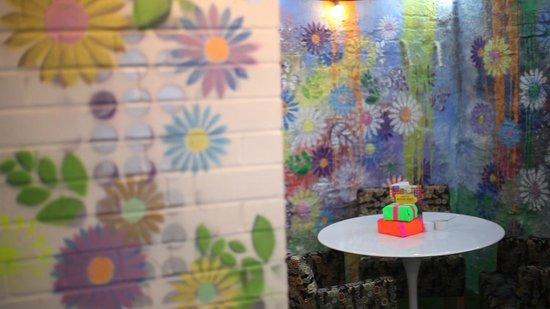Daisy Green of Portman Village : Downstairs Secret Garden
