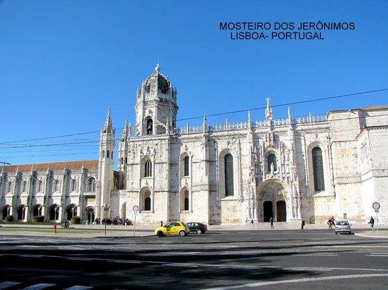Monasterio de los Jerónimos: Fachada do Mosteiro dos Jerônimos