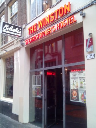 St Christopher's at Winston Hotel: Hostel Bar Restaurante.