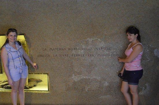Santuario di Caravaggio: Local onde foi Aparição