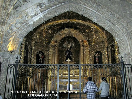 Monasterio de los Jerónimos: Interior do Mosteiro dos Jerônimos