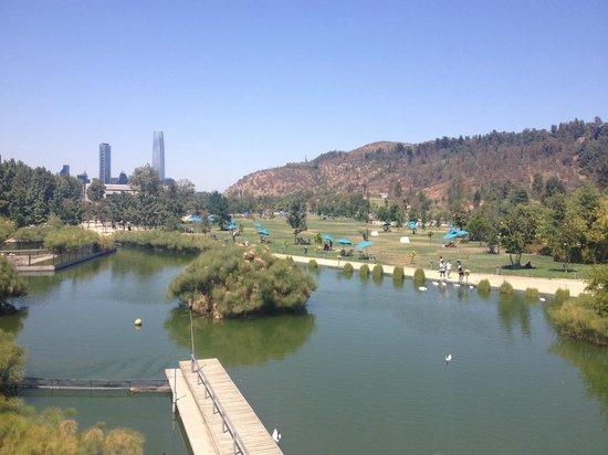 Parque Bicentenario : Vista do mirante