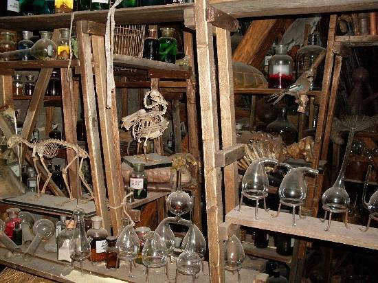 Museum of Alchemists and Magicians of Old Prague: Ed Kelly's tower