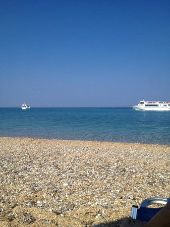 9 Muses Hotel Skala Beach : Beach