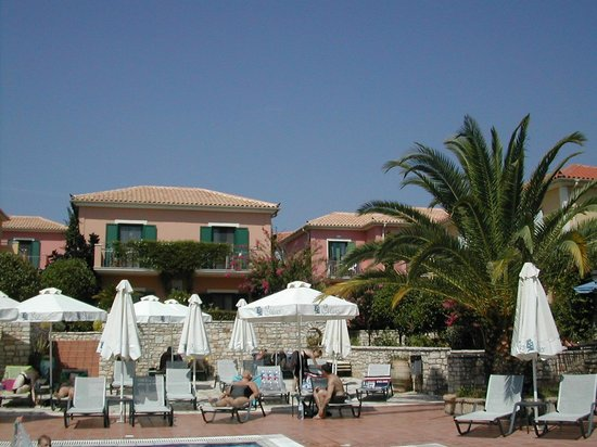 9 Muses Hotel Skala Beach : View from pool bar