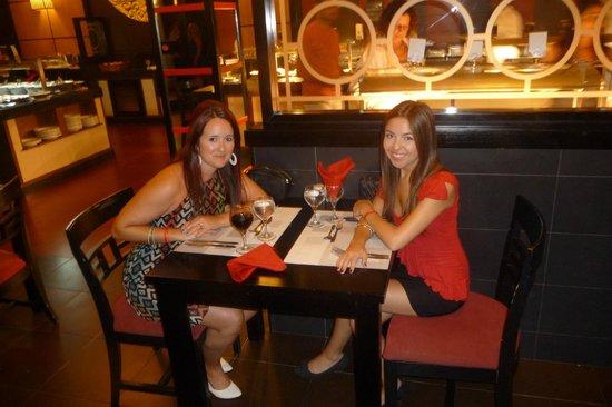 ClubHotel Riu Bambu: Resto Japonais vraiment beau (buffet, mais très bon)