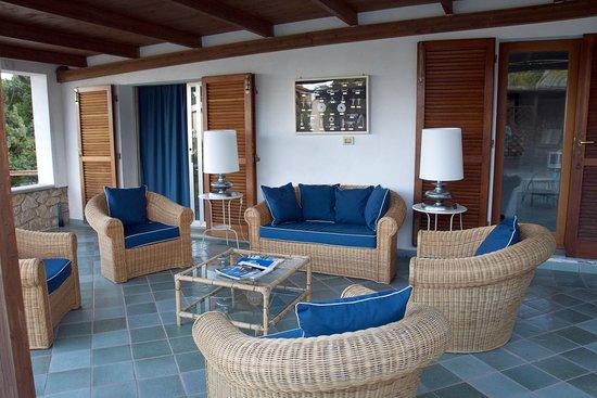 Ecoresort Casa degli Ulivi: terrazza delle palme