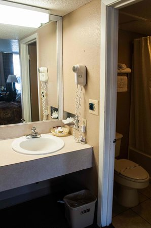 Regency Inn & Suites: bagno