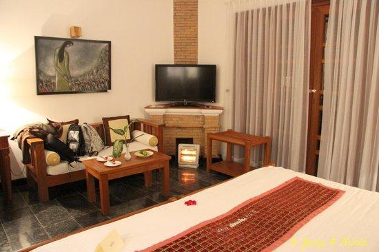 Pilgrimage Village: Interior de la habitación