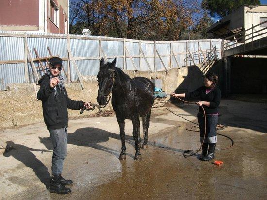 Agriturismo Savoca: Passeggiata a cavallo