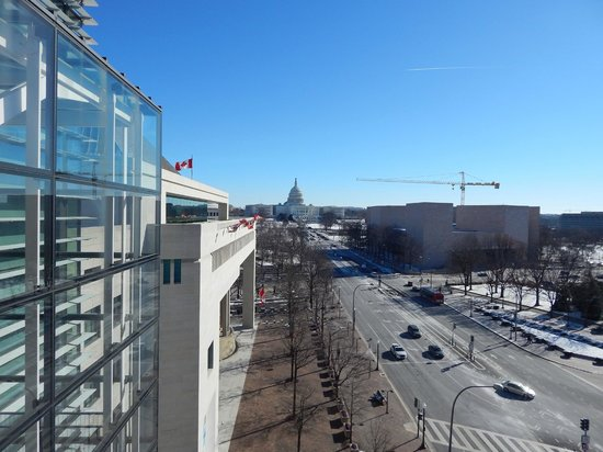 Newseum: View from the terrace