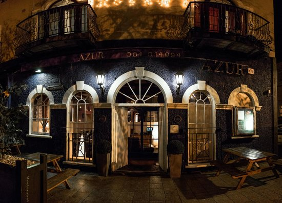 AZUR Restaurant: entrance