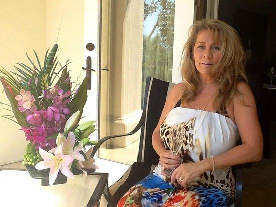 Monarch Beach Resort: Room Patio