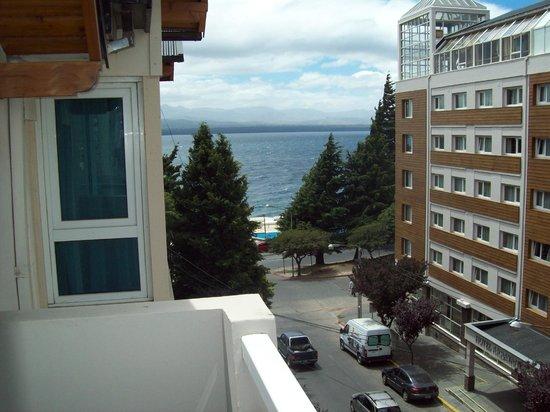 Ayres del Nahuel: Vista desde el balcón del 4º Piso