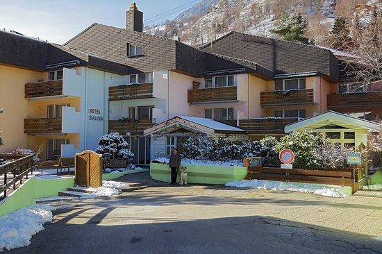 Spa Hotel Salina Maris - Wellness & Vintage : Hoteleingang