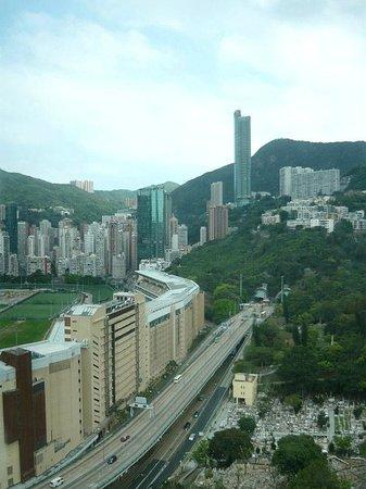 Cosmo Hotel Hong Kong: Cosmo - вид из номера