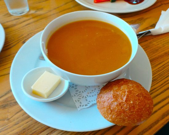 Water of Leith Cafe Bistro: sweet potato soup