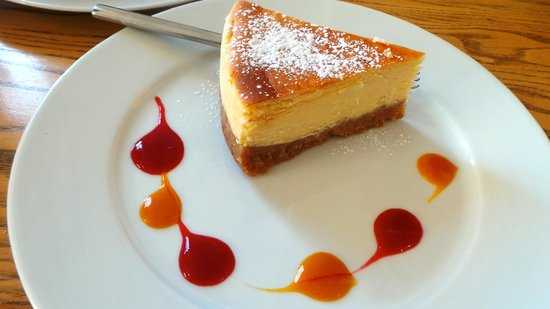 Water of Leith Cafe Bistro: cheesecake