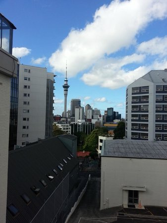 Kiwi International Hotel: View