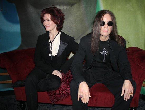 Madame Tussauds New York : Sharon and Ozzy