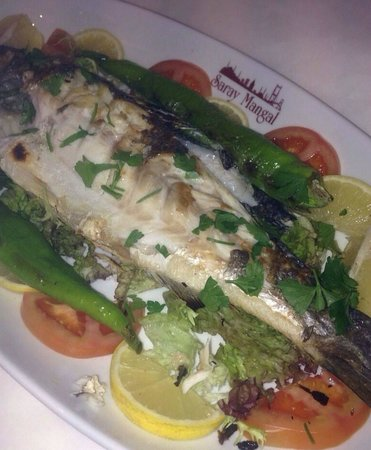 Saray Mangal: Delicious Sea bass