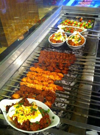 Saray Mangal: 'Mangal' - The word 'Barbeque' in Turkish.