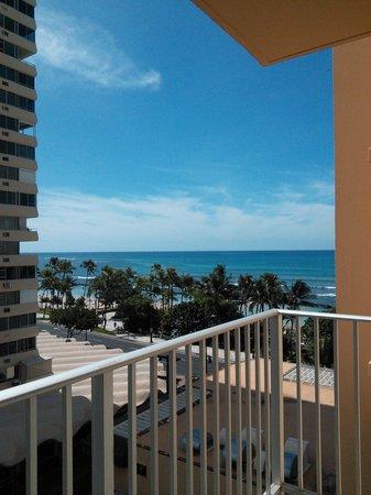 Pacific Beach Hotel: 部屋からの眺め