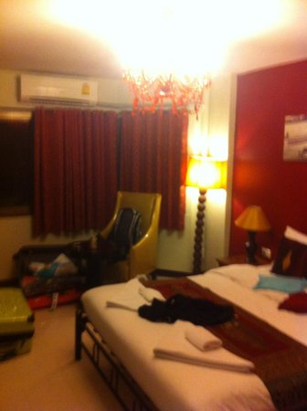 Khaosan Palace Hotel: Unser Zimmer