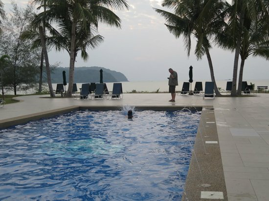 The Frangipani Langkawi Resort & Spa : Saltwater Pool