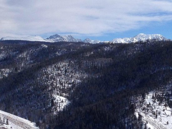 The Mountainside at Silver Creek: View from one of the trails