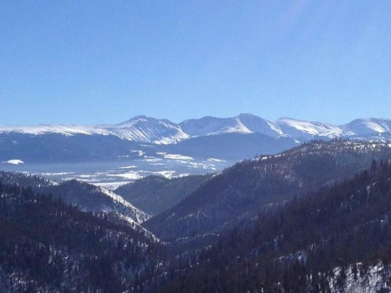 The Mountainside at Silver Creek: View from top of the mountain
