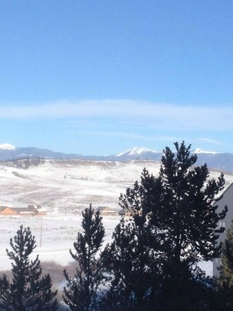 The Mountainside at Silver Creek : view from deck
