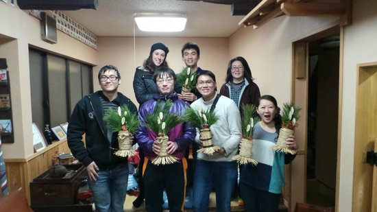 Nikko Guesthouse Sumica : Kadomatsu Workshop