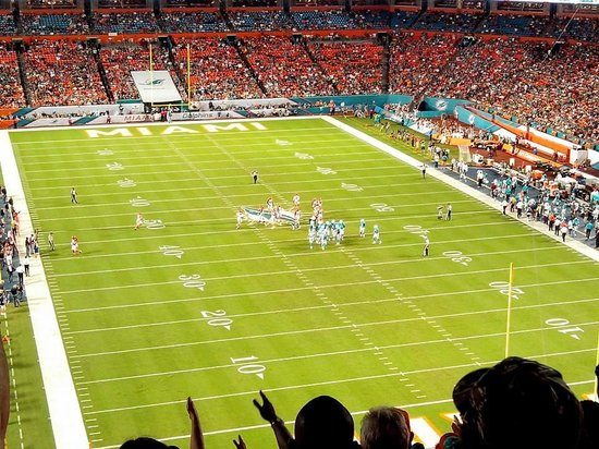 Sun Life Stadium : Vista do anel superior