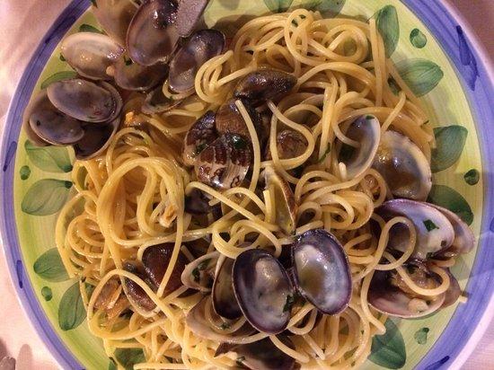 La Locandiera : Spaghetti alle vongole