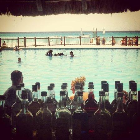 Allegro Playacar: Piscina bar