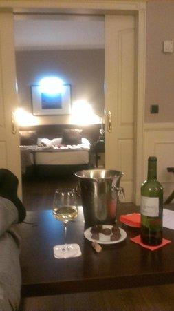 Hotel Cortezo: habitación