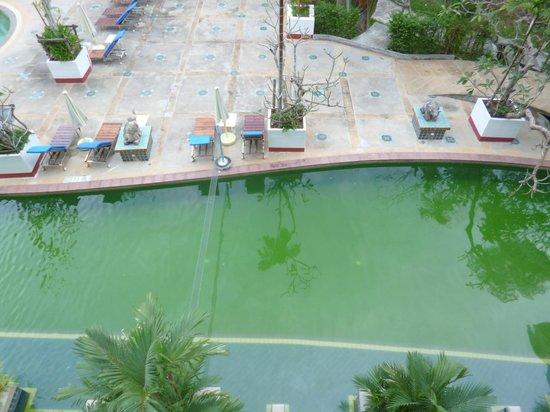 Aonang Ayodhaya Beach Resort: Muddy pool