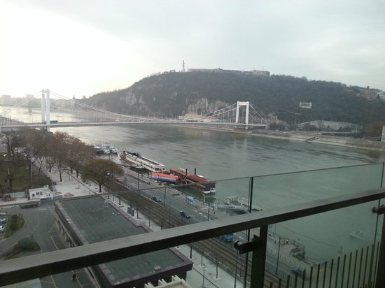 Budapest Marriott Hotel: View from room 701