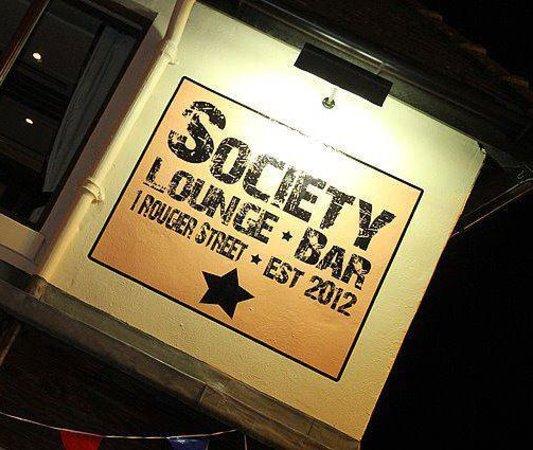 Society Lounge and Bar: logo