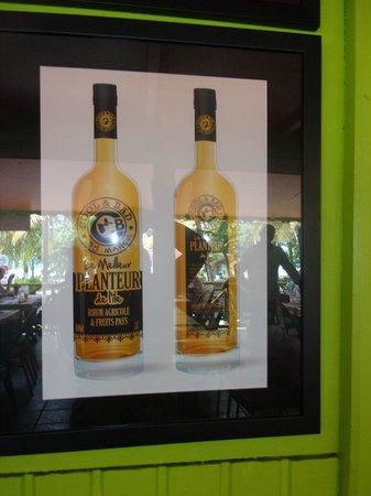 La Cabane Creole: son planteur en bouteille