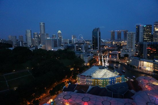 Novotel Singapore Clarke Quay: de nuit