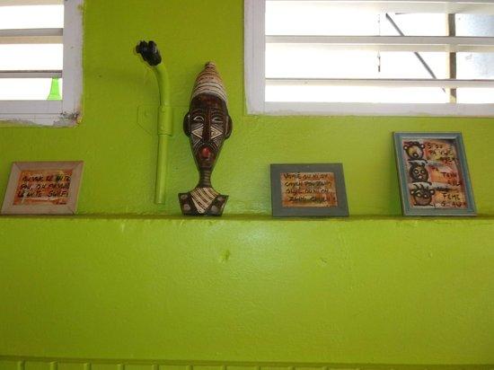La Cabane Creole: la déco