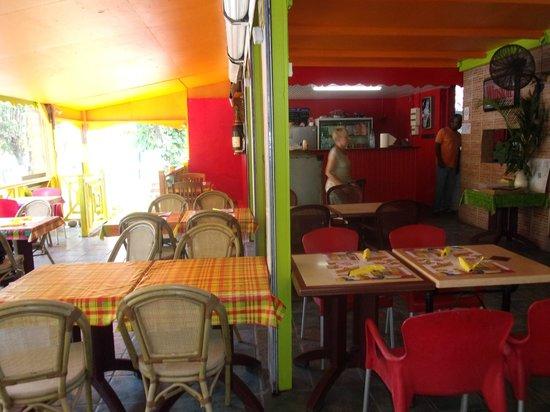 La Cabane Creole : la salle