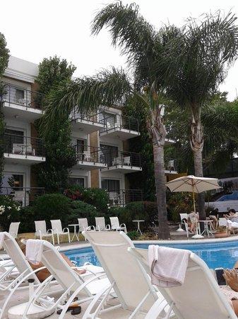 Radisson Hotel Colonia del Sacramento: Desde la terraza de la habitación!