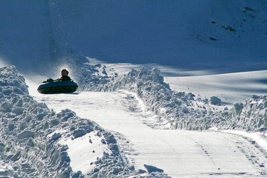 Scaly Mountain Outdoor Center: coming down!